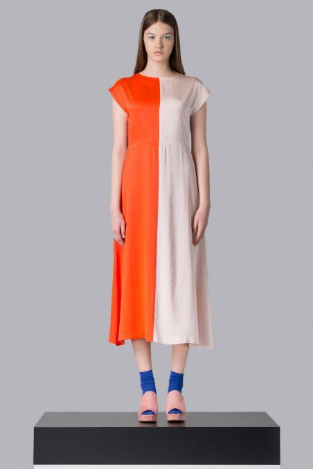 Sweet tangerine dress